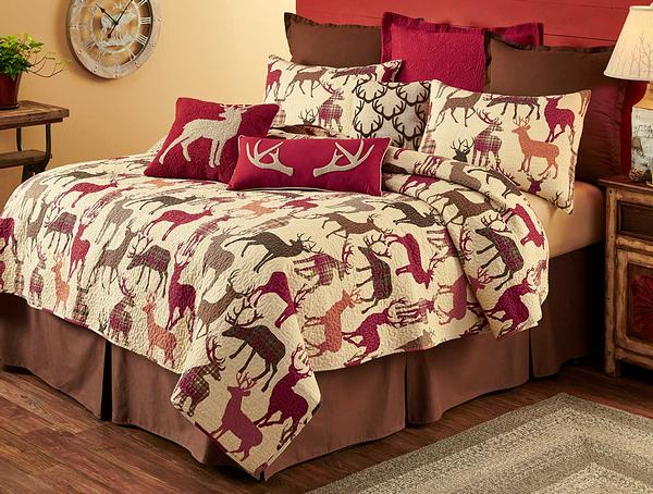 Deer Silhouette Bedding Set