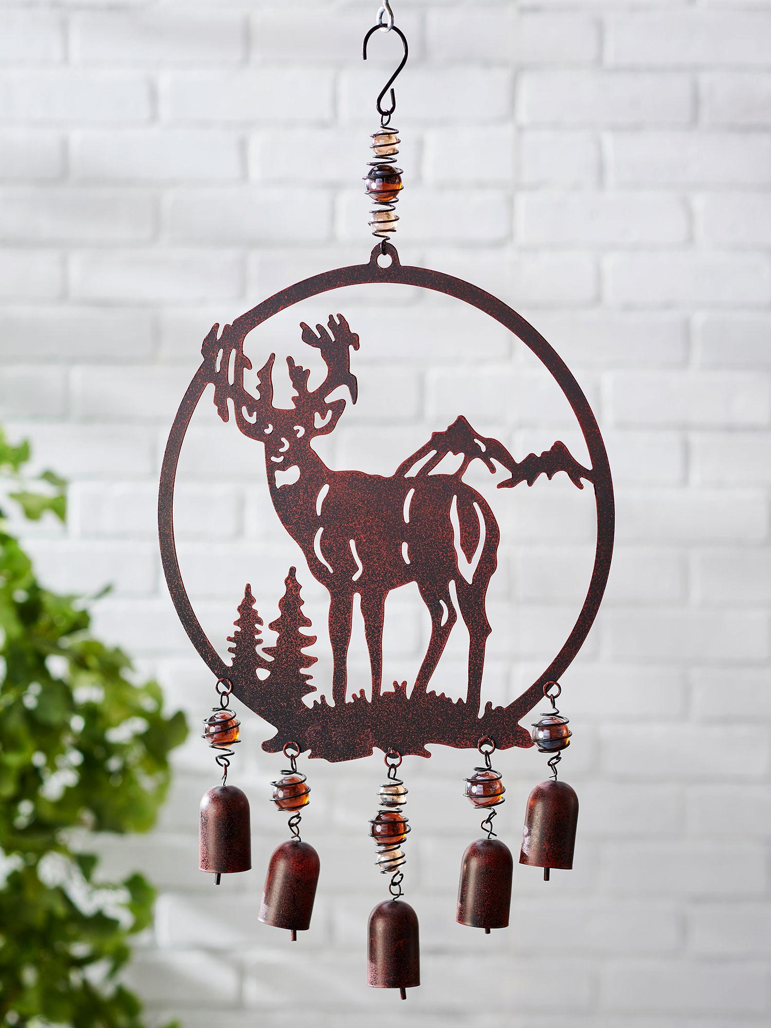 Majesty of Nature Whitetail Deer Wind Chime