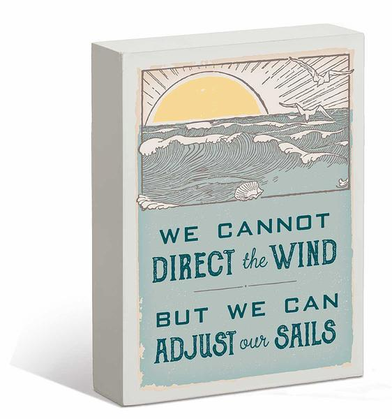 We Cannot Direct the Wind