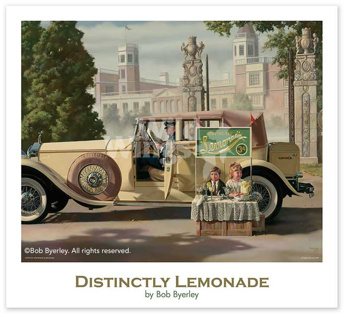 <i>Distinctly Lemonade Poster</i>