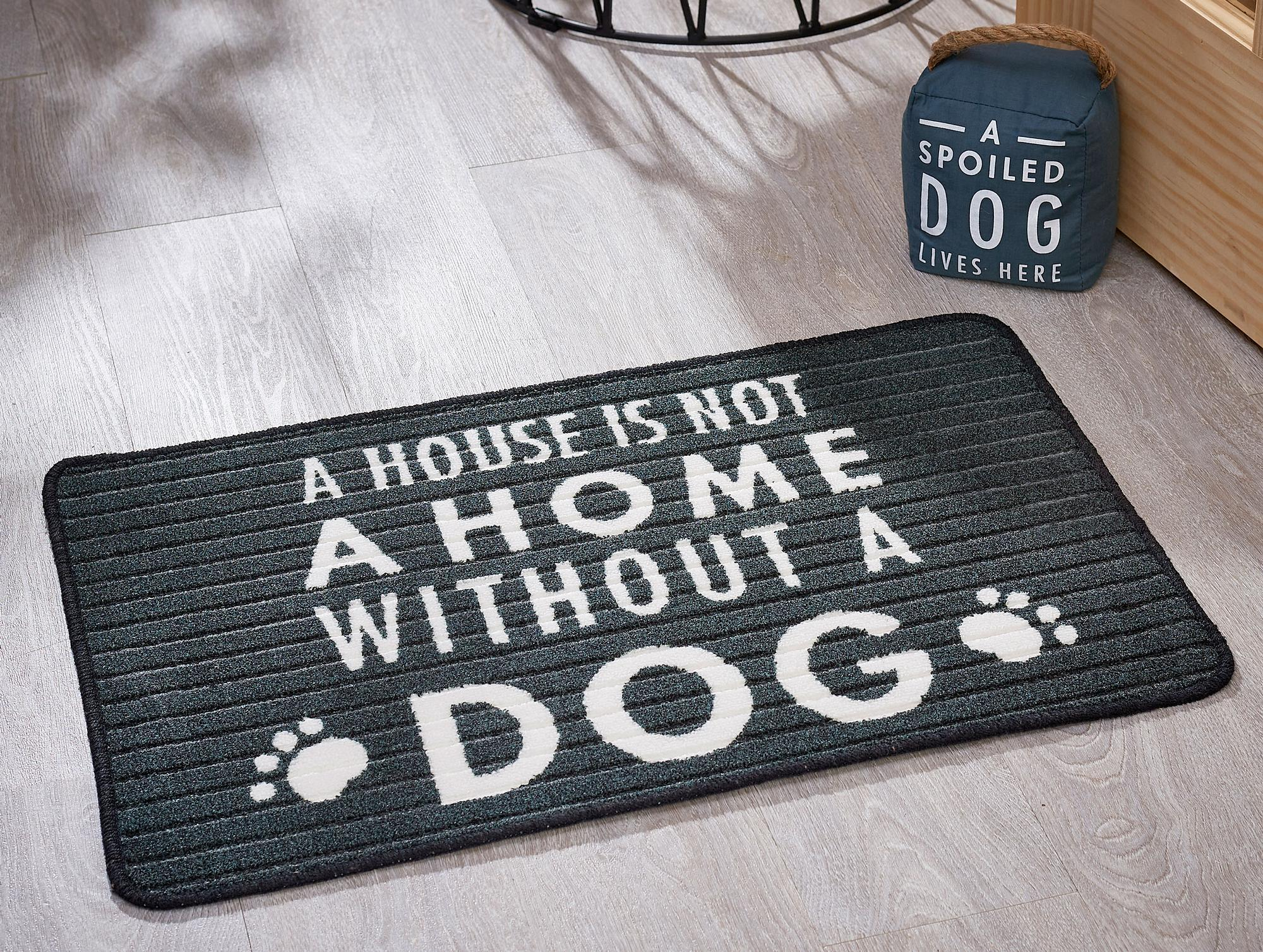 Dog-Themed Entry Mat