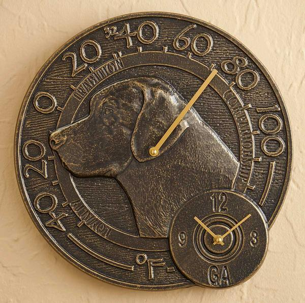 Dog Thermometer & Clock