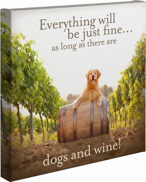 Dogs and Wine.