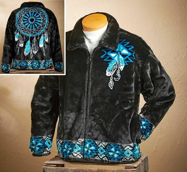 Dream Catcher Fleece Jacket