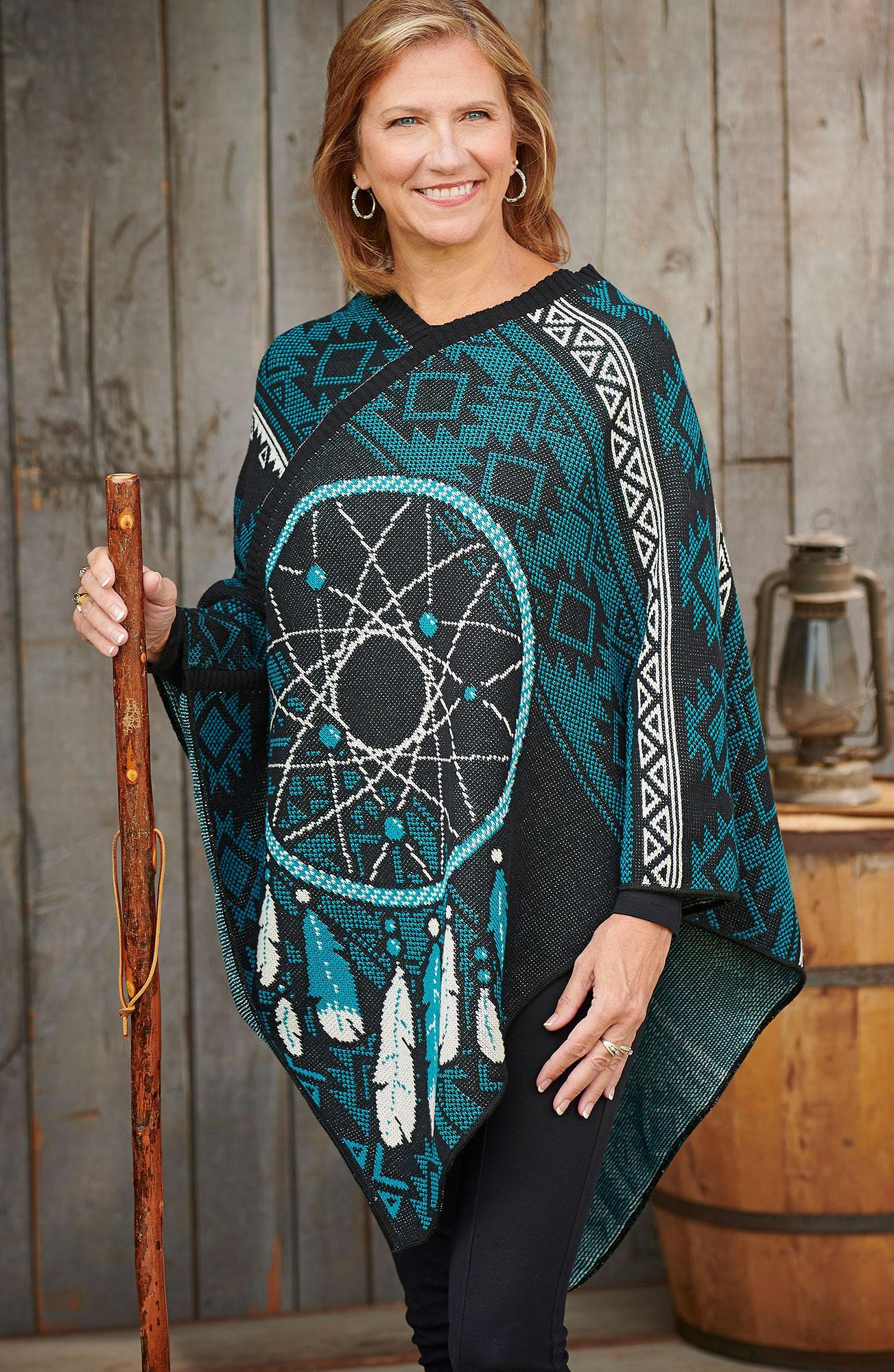 Dream Catcher Poncho