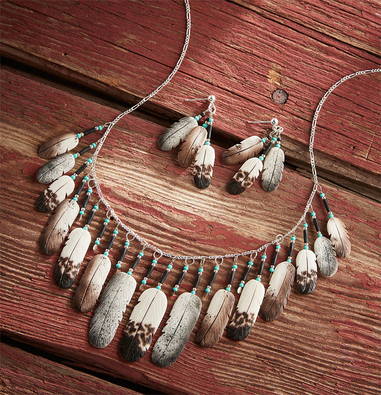Eagle Feather Jewelry Collection