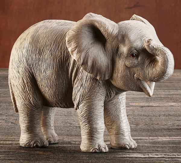 Elephant Baby Sculpture