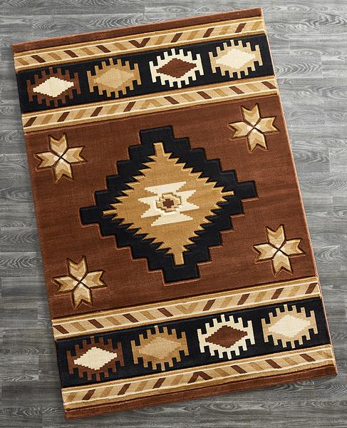 Espresso Mocha Area Rug Collection