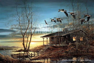 <I>Evening Retreat</i> Legacy Canvas<Br/>20H X 30W Art Collection