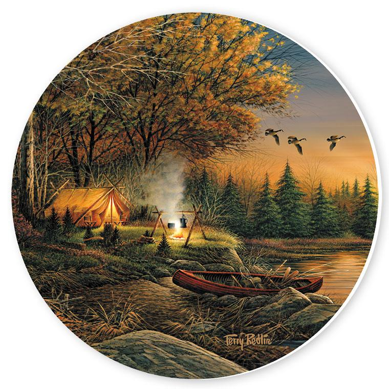 Evening Solitude Coasters