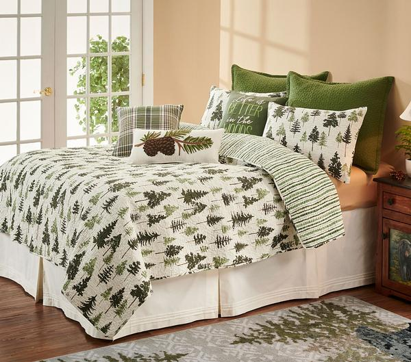 Evergreen Pines Bedding Set