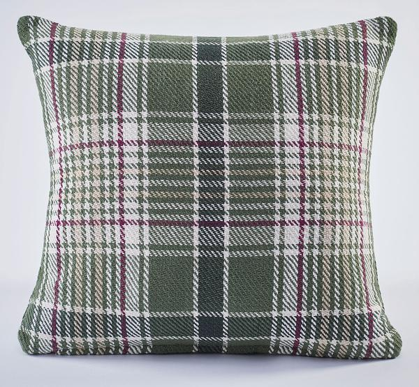 Evergreen Pines Plaid Pillow