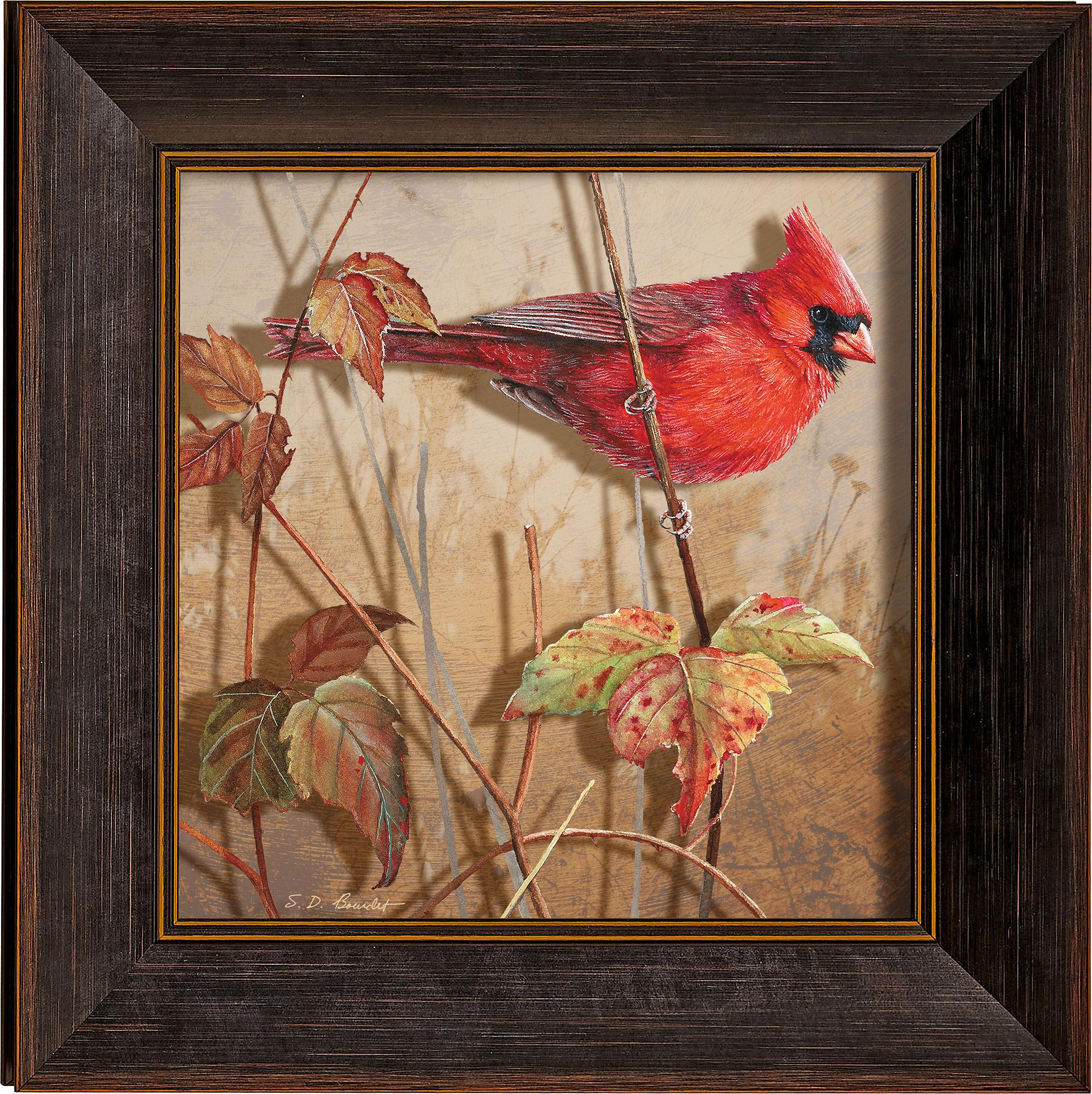 Fall Brilliance-Male Cardinal Art Collection