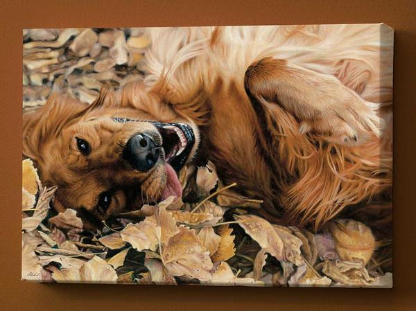 <i>Fall Festival&mdash;Golden Retriever</i>