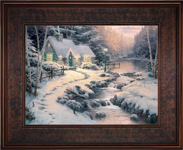 <I>Evening Glow</i> Framed Limited Edition Canvas (Sn)