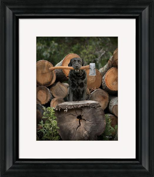 Hew Framed Art Print