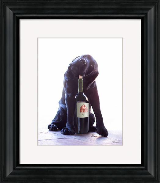 Hooch Framed Art Print