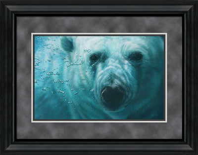 <I>Sub Zero&mdash;polar Bear</i> Framed Limited Edition Print<Br/>23H X 30W Art Collection
