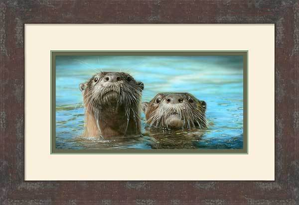 Up Periscope Too—American River Otters