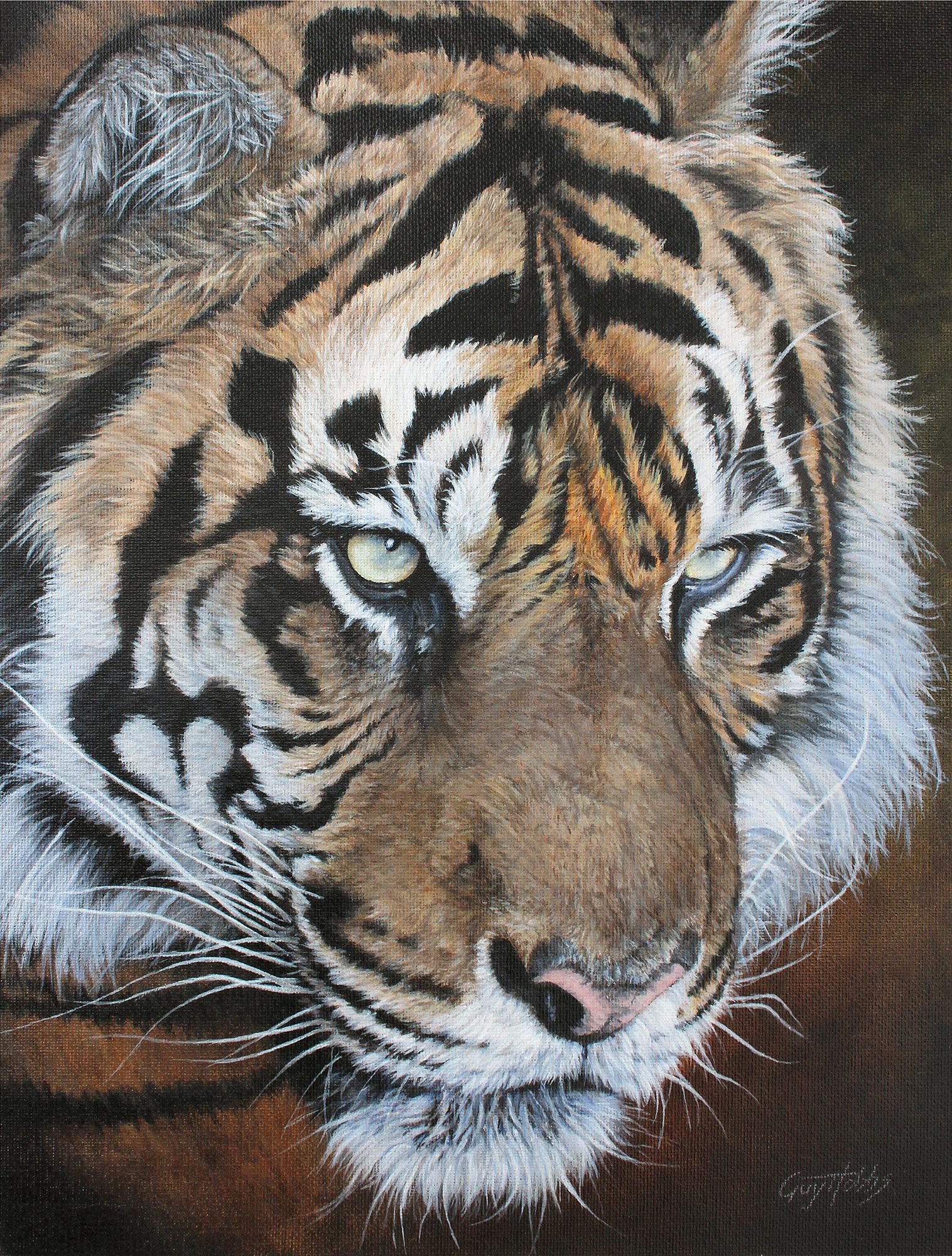 Fearful Symmetry-Tiger Art Collection