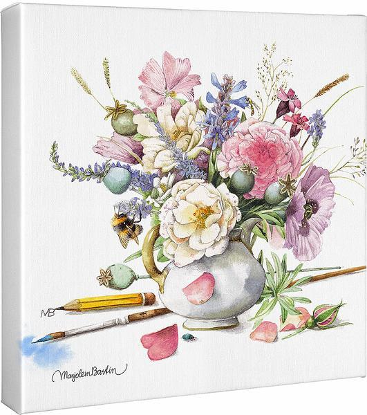 <I>Flowers</i> Gallery Wrapped Canvas