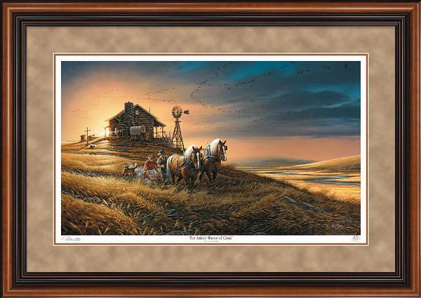 For Amber Waves of Grain Art Collection