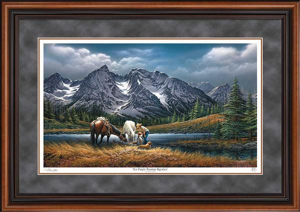 For Purple Mountain Majesties Art Collection