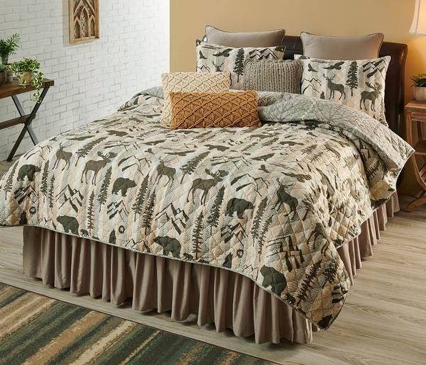 Outdoor Silhouettes Bedding Collection