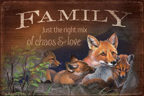 Family—Just the Right Mix.