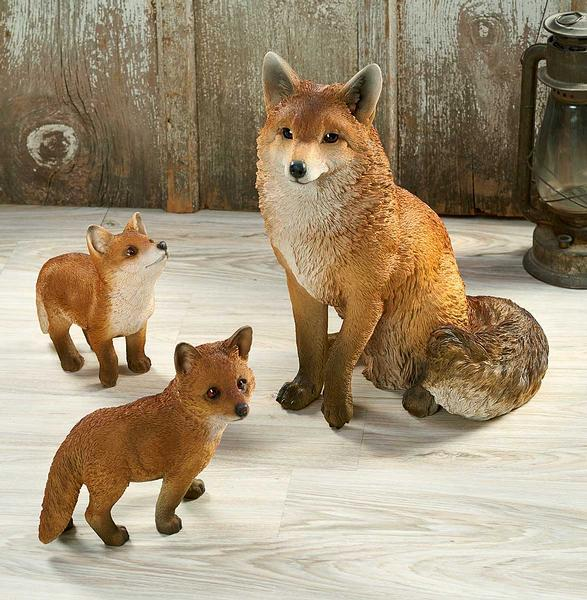 <I>Fox Family</i> Sculpture Collection