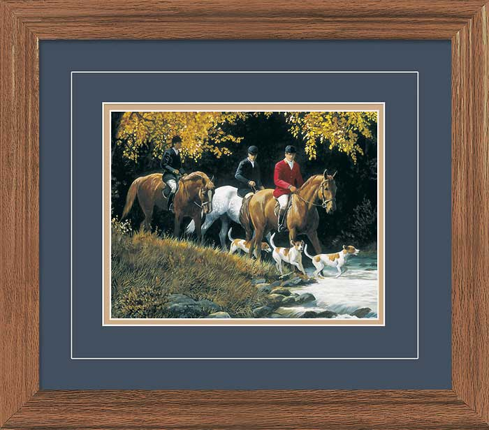 September Outing-Fox Hunt Art Collection