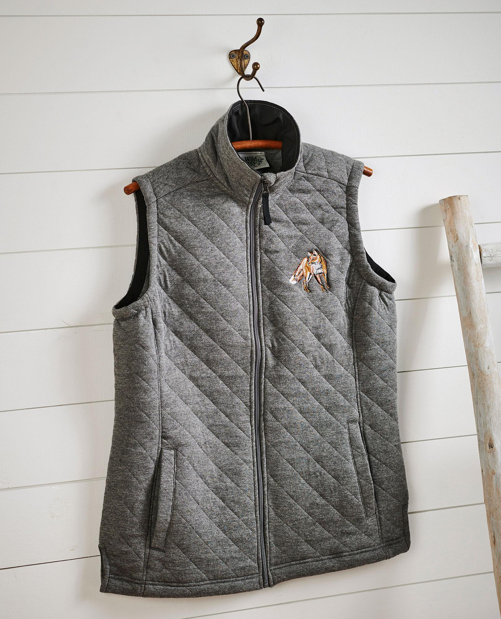 Fox Quilted Vest
