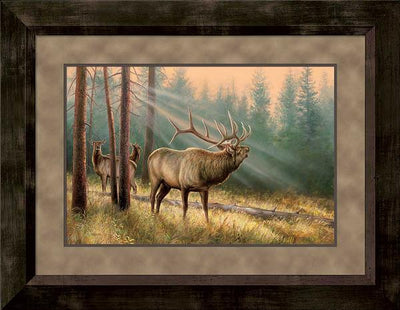 Answering the Call-Elk Art Collection