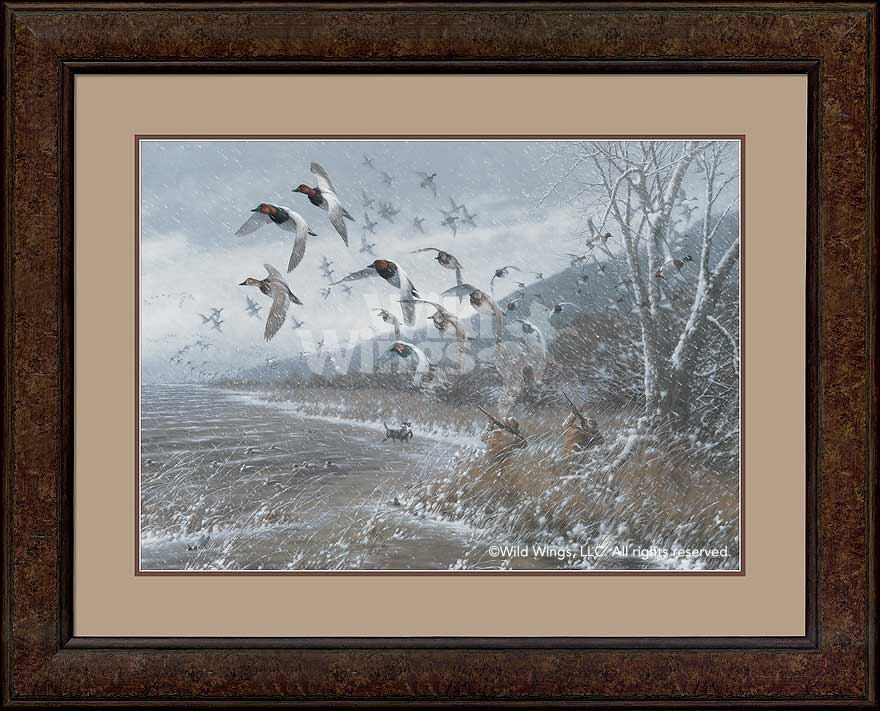 <i>Armistice Day Hunt - Canvasbacks</i>