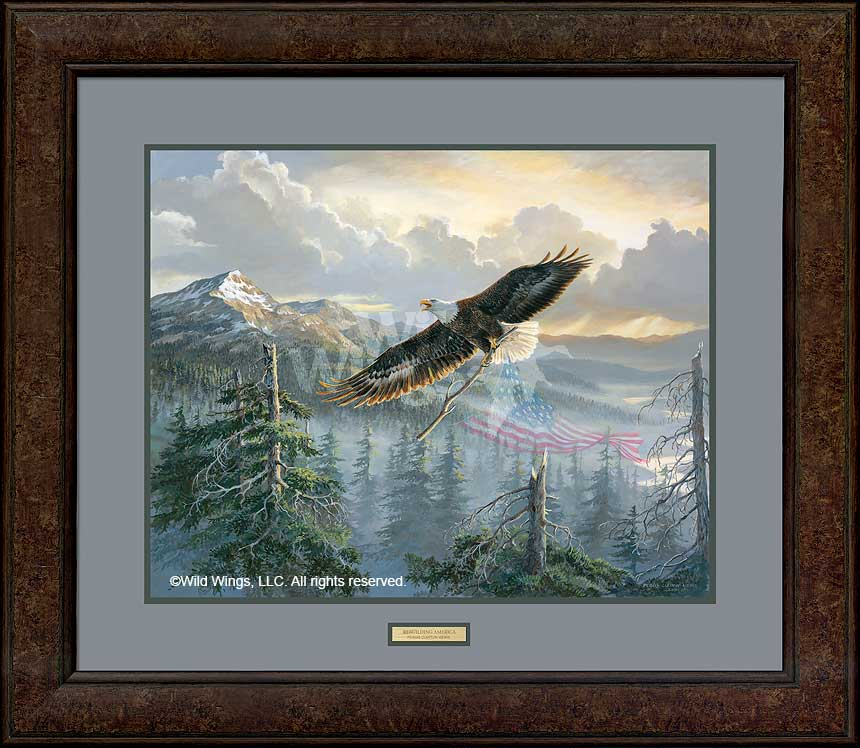 Rebuilding America-Bald Eagle Art Collection