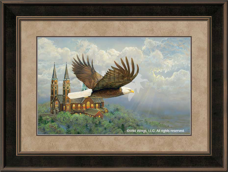 Heavenly Flight-Eagle Art Collection