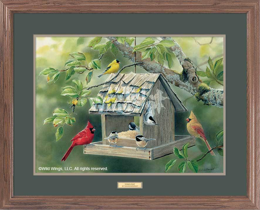 <I>Summer Feast</i> Gna Premium Framed Print<Br/>25H X 31W Art Collection
