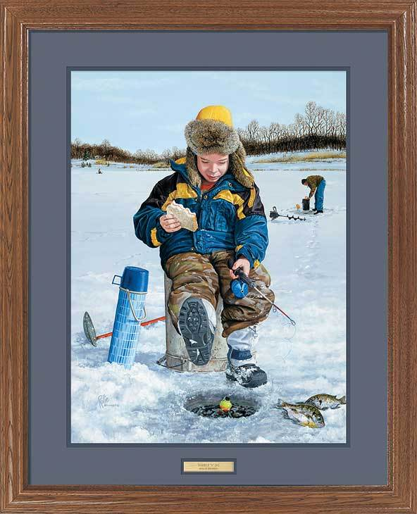 <i>Nibble & Jig&mdash;Ice Fishing</i>