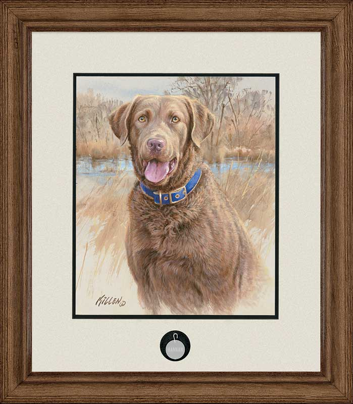 That's My Dog, Too!-Chesapeake Bay Retriever Art Collection