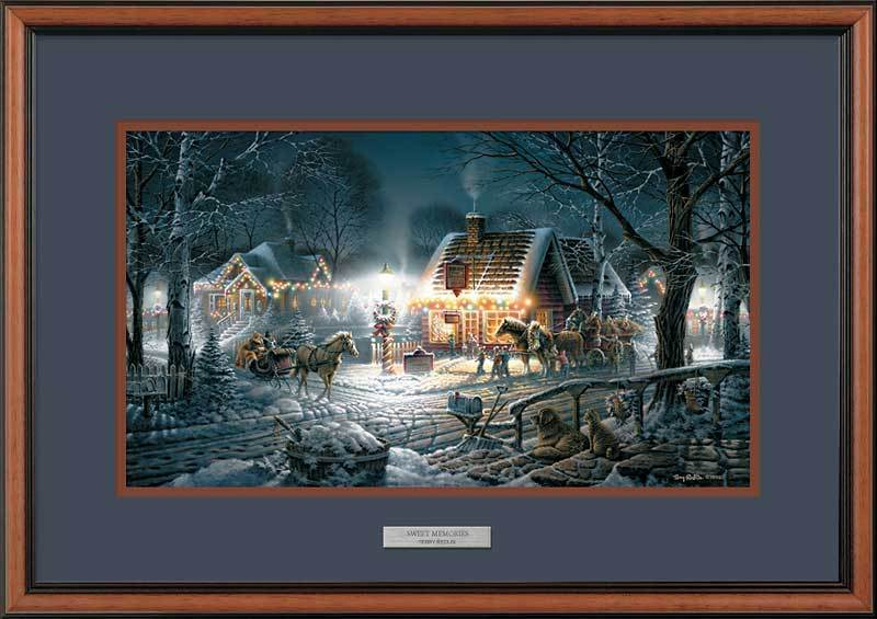 Sweet Memories Framed Encore Print<Br/>17.5H X 24W Art Collection