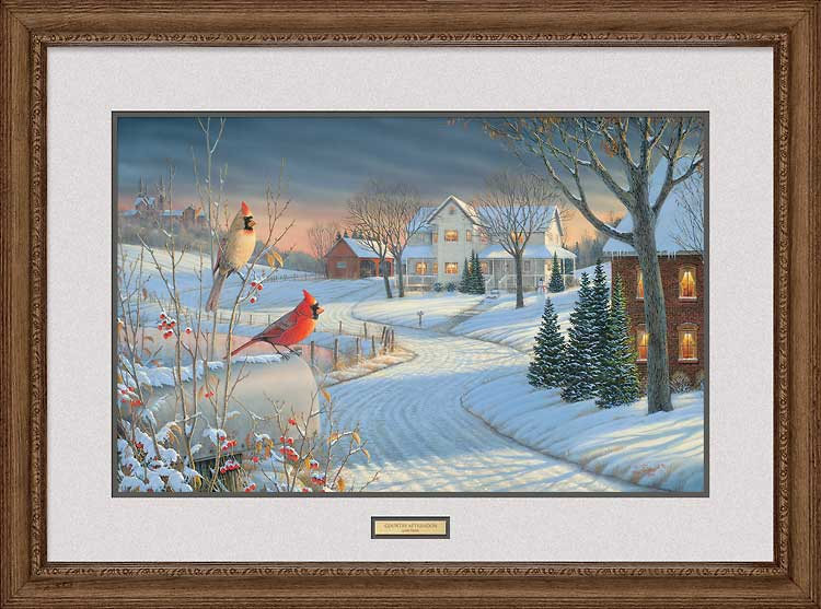 Country Afternoon-Cardinals Art Collection