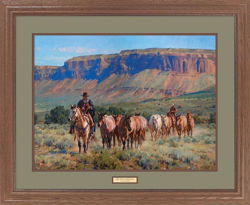 <i>Red Rock Remuda&mdash;Cowboys</i>