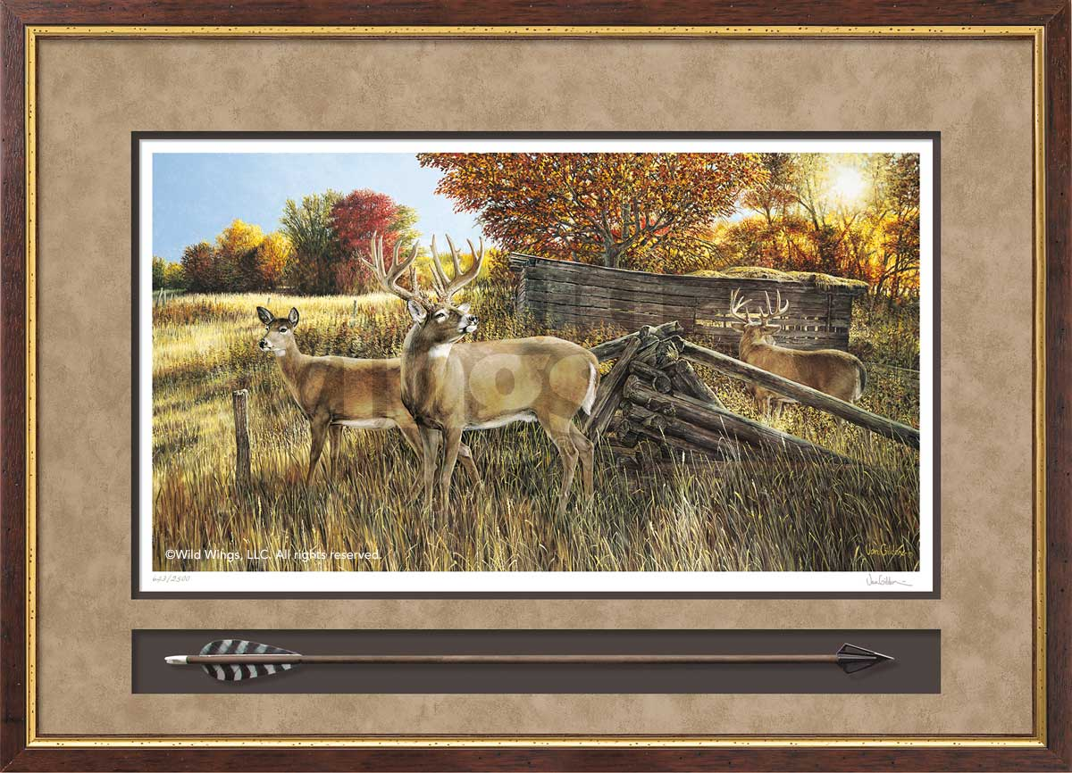 The Waiting Game-Deer Hunting Art Collection