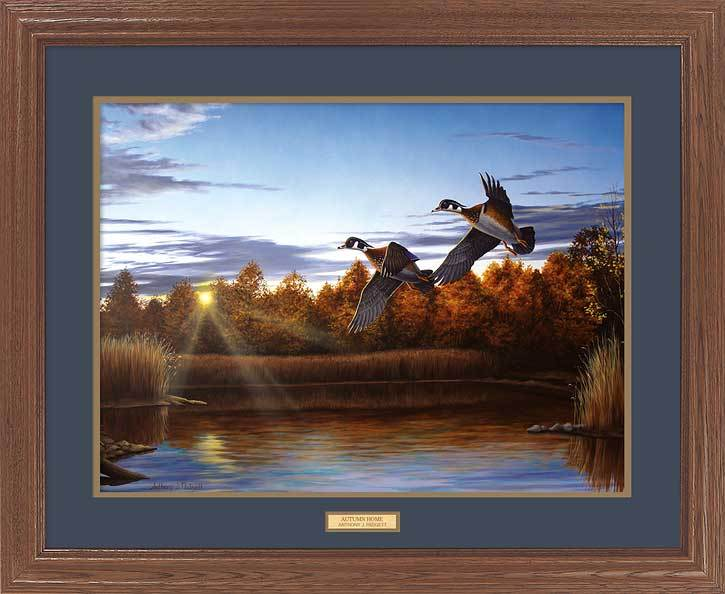 <i>Autumn Home&mdash;Wood Ducks</i>