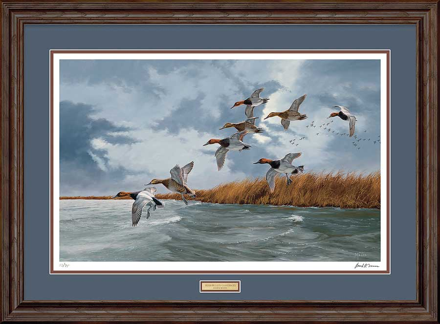 Silver Bullets-Canvasbacks Art Collection