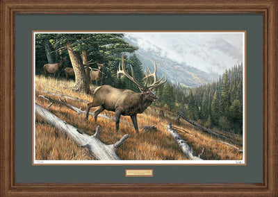 A Challenge to All-Elk Art Collection