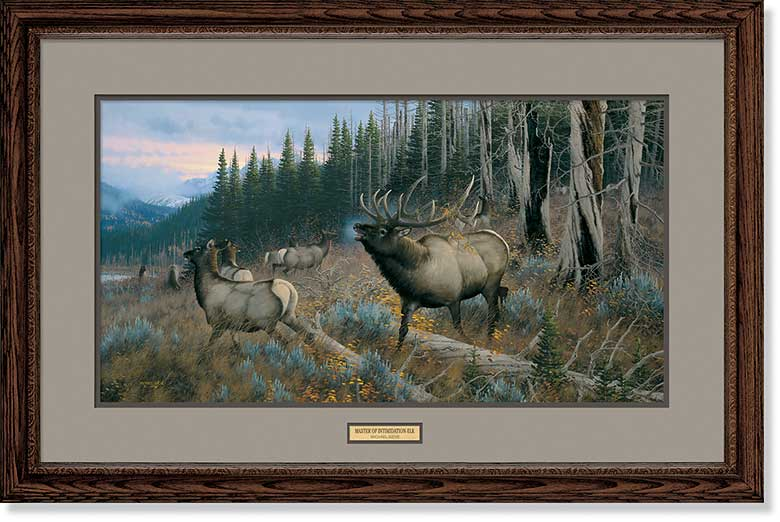 Master of Intimidation-Elk Art Collection