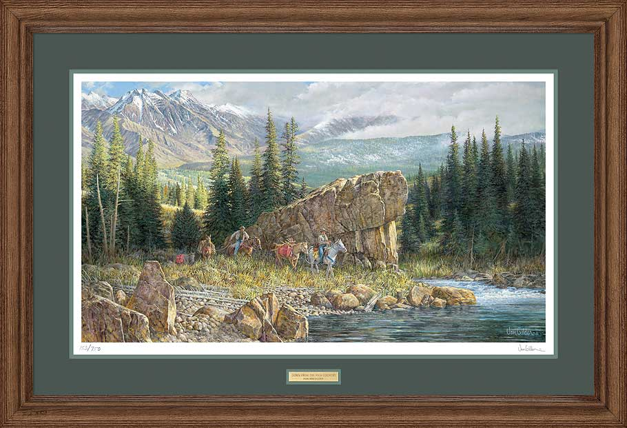 Down from the High Country Art Collection