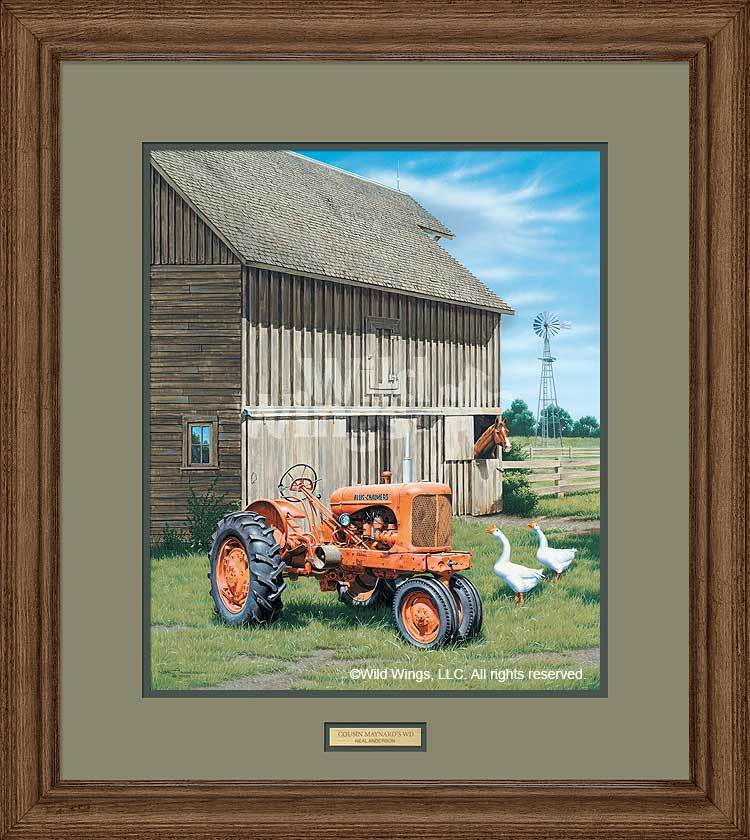 <I>Cousin Maynards Wd</i> Framed Limited Edition Print<Br/>28H X 25W Art Collection