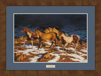 Approaching Storm-Horses Art Collection